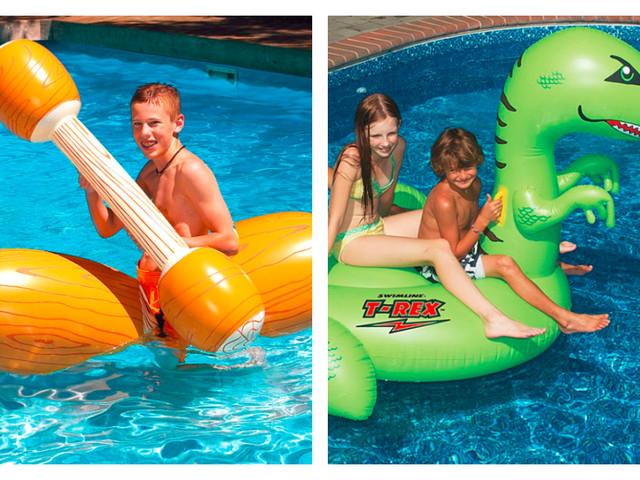 Two Days Only! Swim Floats & Toys up to 50% Off + Extra 15% Off at Zulily!