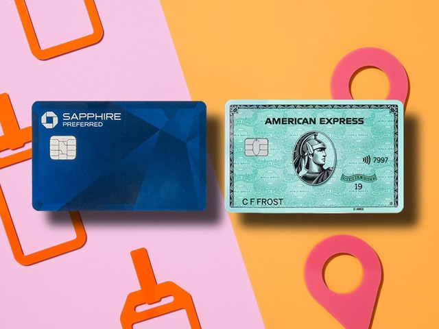 Credit card face-off: Amex Green vs. Chase Sapphire Preferred