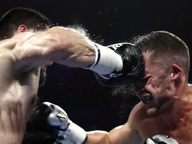 Video: Beterbiev unifies belts with TKO victory over Gvozdyk