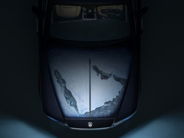 Rolls-Royce shows off bespoke Wraith with interplanetary inspiration