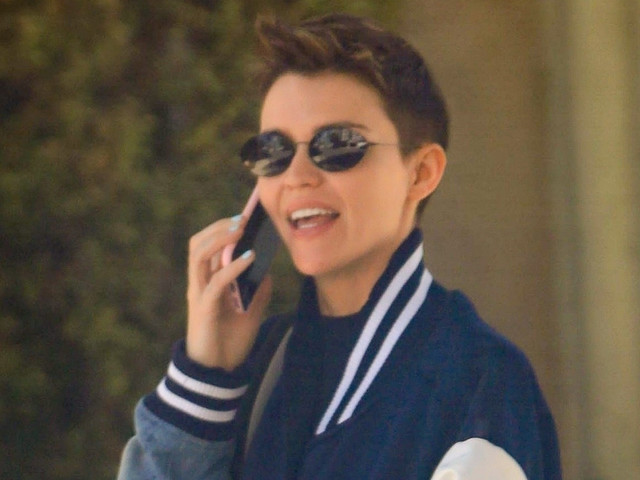 Ruby Rose Enjoys the Sunny Weather in Beverly Hills