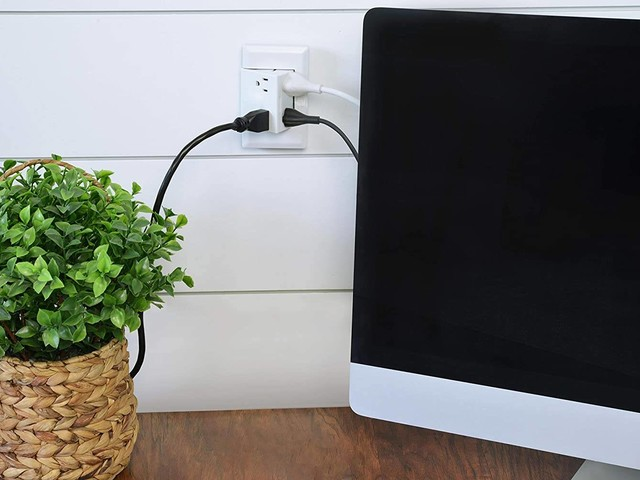 People rave about this $40 Amazon find that gives you four power outlets in the space of two