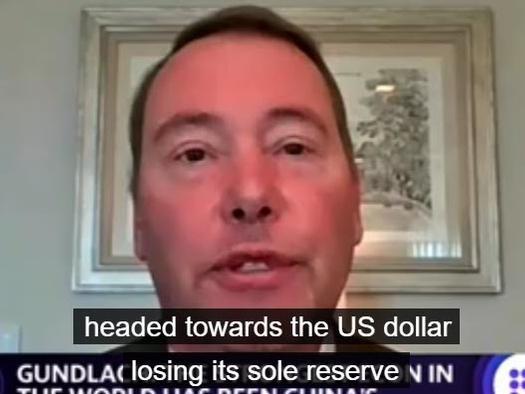"Gundlach Warns US Is On A ""Roadmap To Losing Global Reserve Currency Status"""