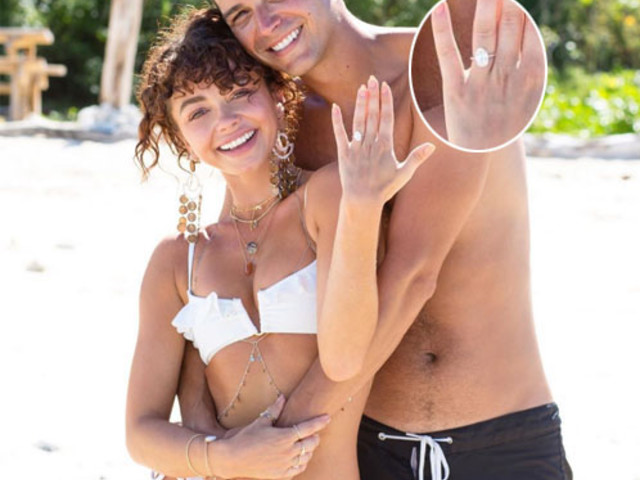 Sarah Hyland told fiance which engagement ring to buy, doesn't everyone do this?