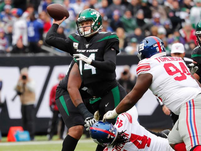 Sam Darnold's aggressiveness comes with 'fine line' for Jets