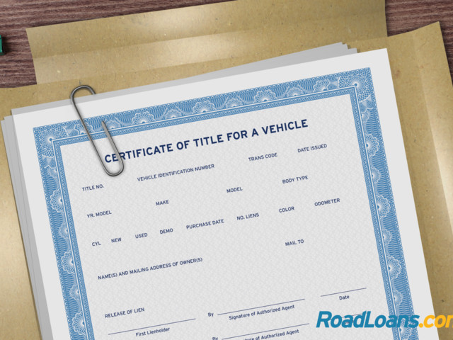 What is a car title?