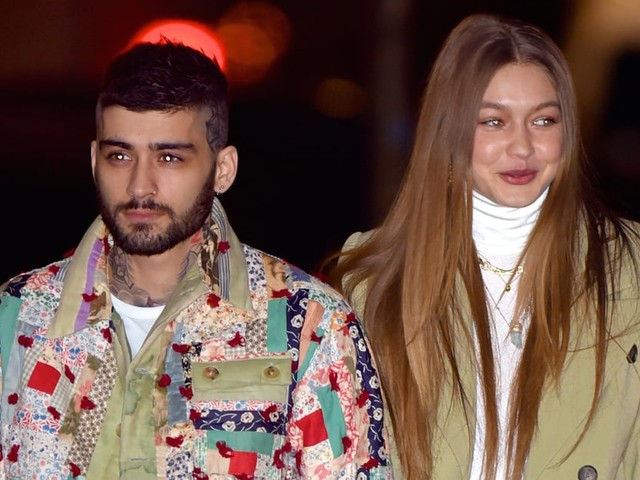 Back On? Gigi Hadid and Zayn Malik Get Cozy During a Birthday Outing in NYC
