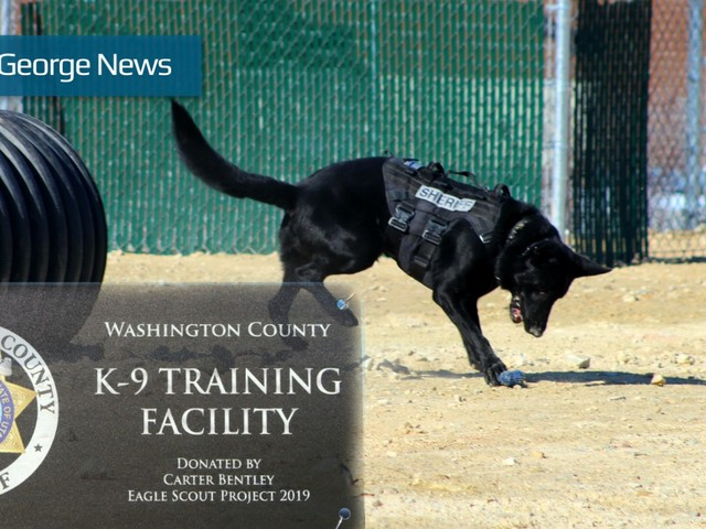 Boy Scout combines passion for dogs, law enforcement to create K-9 training facility in Hurricane