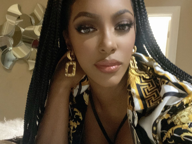 Fans Gush Over Porsha Williams as She Wears Her Versace Shirt for the 'Tenth' Time