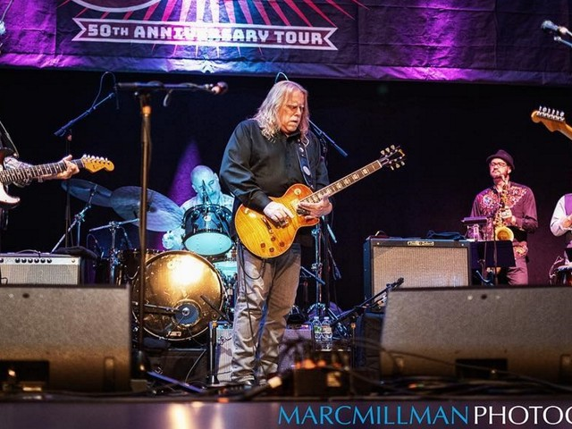 Warren Haynes & Larry Campbell Team With Little Feat In New York City