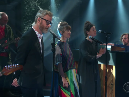 """Watch The National Make A Quick Return To Colbert With """"Rylan"""""""