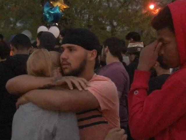 Vigil held in Camden after shooting leaves 2 teens dead