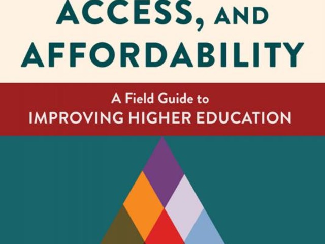 Author discusses his new book, 'a field guide for improving higher education'