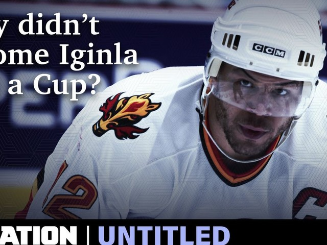 Jarome Iginla never won a Stanley Cup.