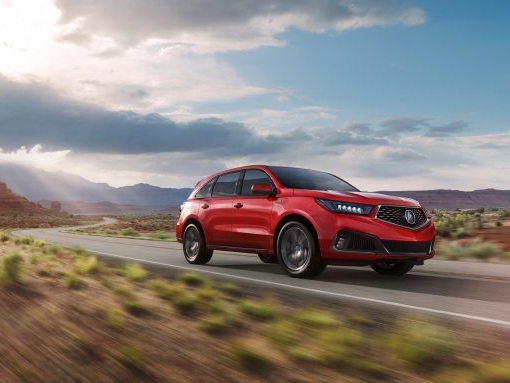 Joining the A-Team: Acura MDX Adds Sporty A-Spec Trim for 2019