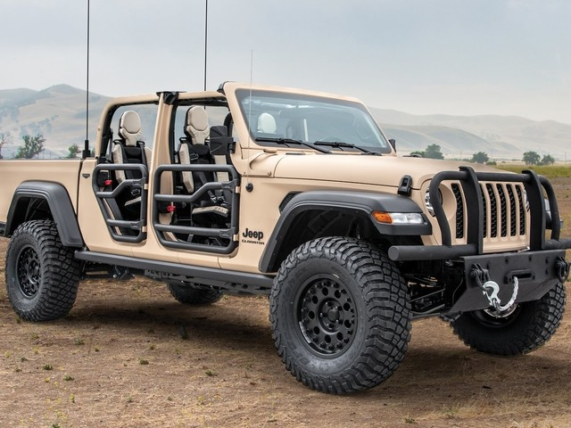 Jeep's Return to Military Service Could Go Through The Gladiator Pickup