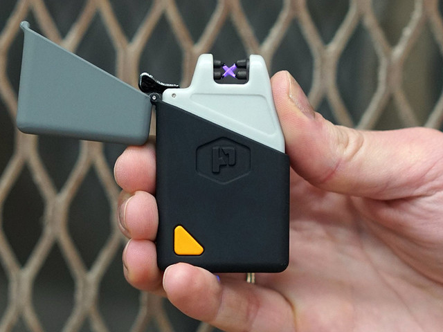 The upgraded plasma lighter that never blows out or needs fuel is under $20 on Amazon