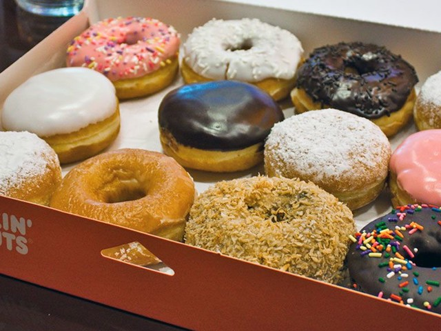 The Healthiest and Worst Doughnuts, Breakfast Sandwiches, and Coffees at Dunkin' Donuts