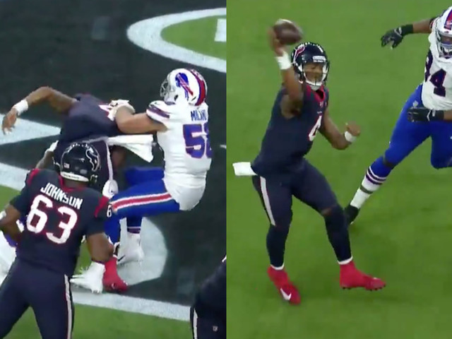 Deshaun Watson knocked the Bills from the playoffs with one magically clutch play