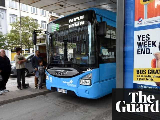 'I leave the car at home': how free buses are revolutionising one French city