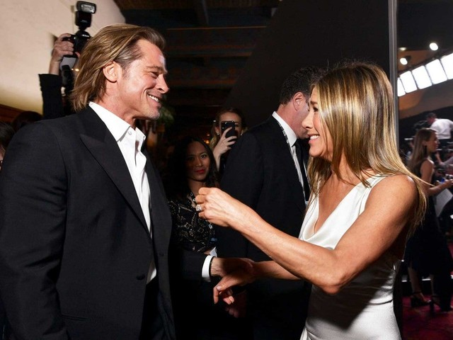 Brad Pitt Is 'Blissfully Naive' After Everyone Freaked Out Over His Jennifer Aniston Reunion (Exclusive)