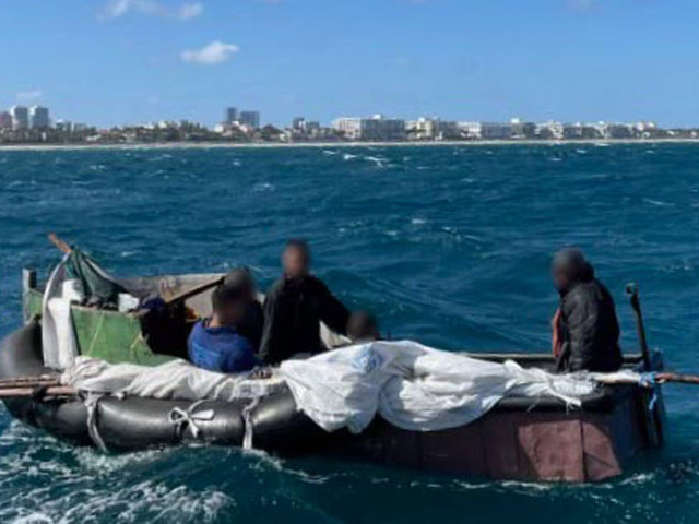 Coast Guard Rescued Five Cubans On Makeshift Raft Off Lake Worth