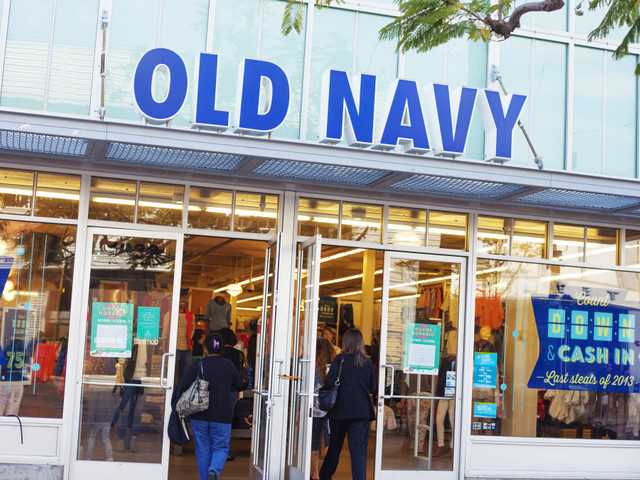 Old Navy's headquarters reportedly has a running ticker of customer feedback on display — both the good and the bad