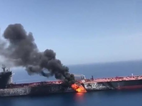 Tanker War In Persian Gulf And US-Iranian Conflict