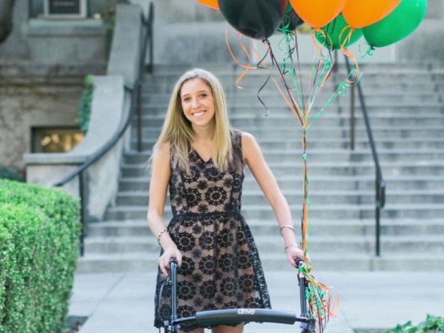 La Verne woman gets MBA, serves as bridesmaid after Las Vegas mass shooting left her quadrplegic