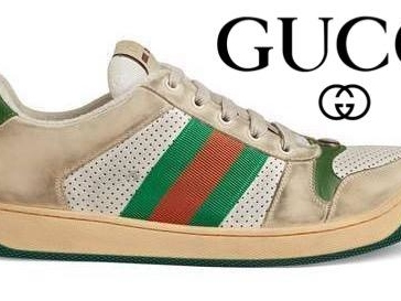 Gucci Is Selling $870 Sneakers That Look Dirty