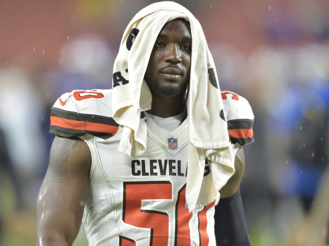 Browns cut player who lost girlfriend in deadly crash