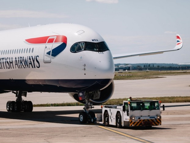News: First British Airways Airbus A350 prepares for Dubai departure