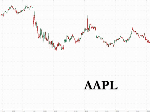 Apple Tumbles After iPhone Production Goal Slashed On Chip Shortage