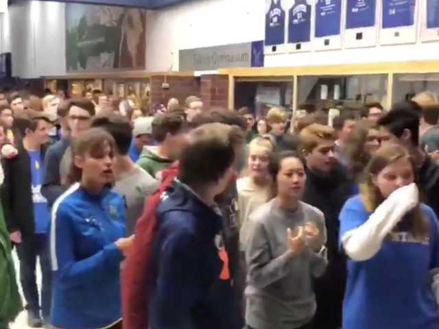 Students angrily walk out of Colorado school shooting vigil in protest after speakers push gun control and politicize tragedy