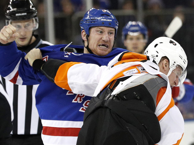 Rangers can't win but at least they found their fight