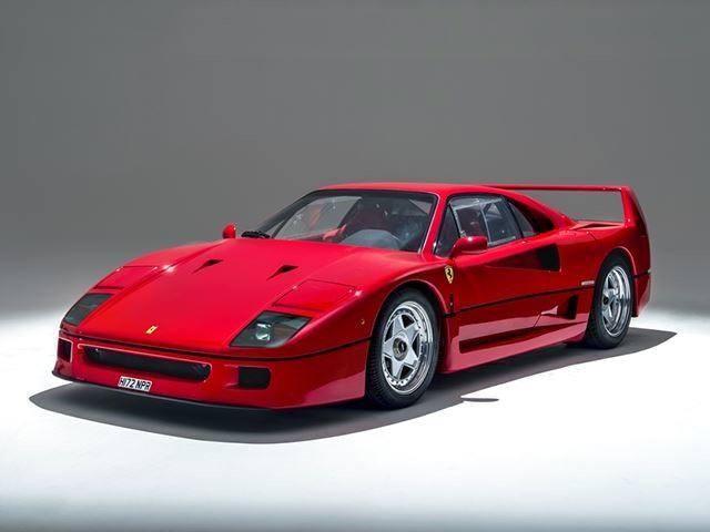 This Ferrari F40 Is Practically Fresh From The Factory