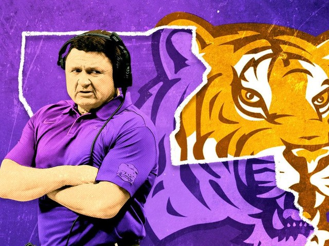 Down the Bayou, Ed Orgeron's Hometown Roots for an LSU Title