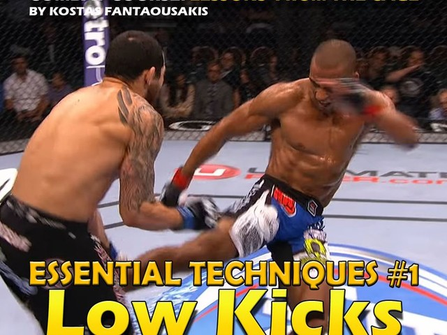MMA Essential Techniques: Low kicks & Sweeps