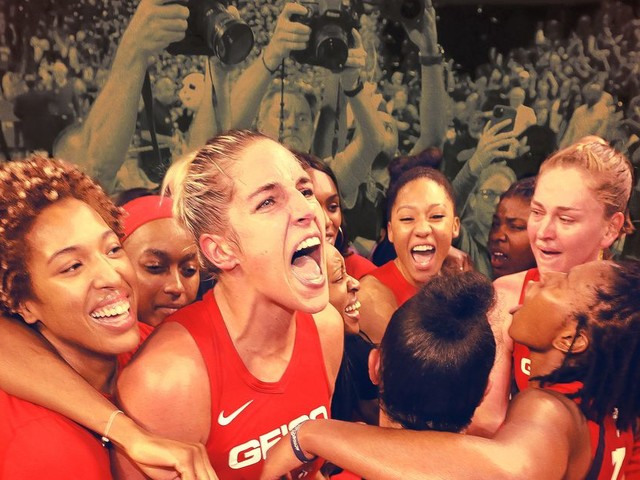 Face, Knee, and Back Injuries Couldn't Keep Elena Delle Donne From a WNBA Championship