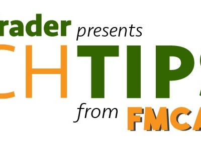 FMCA Tech Tip: RV Spring Cleaning Tips