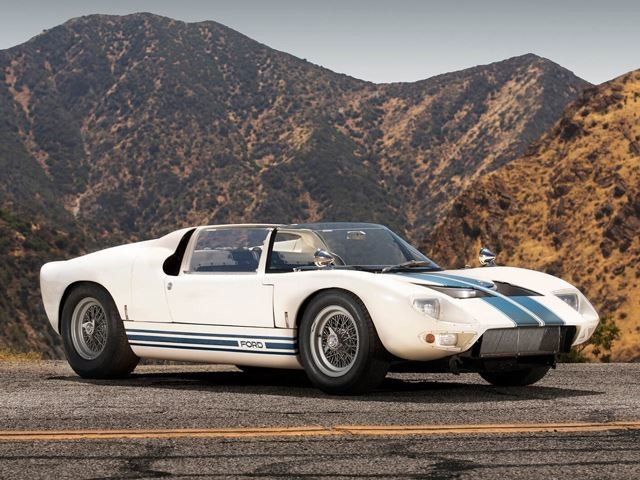 This 1965 Ford GT40 Roadster Is All-Original And Its Price Isn't Even Listed