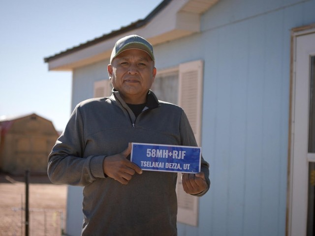 The Navajo Nation addresses its residents with Plus Codes