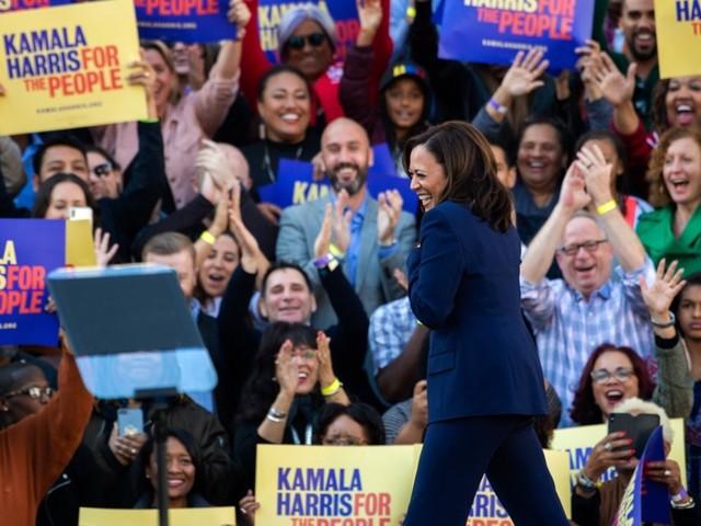 On Israel, Kamala Harris breaks with liberal 2020 pack