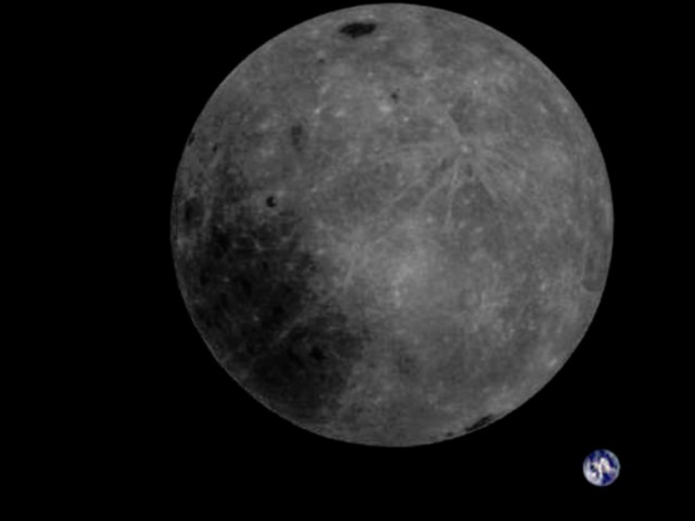 Chinese satellite snaps image of the Moon from the side we never see