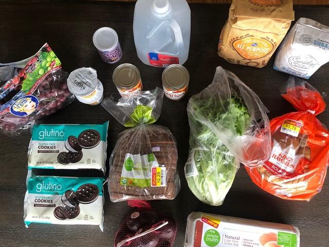 This Week's $70 Grocery Budget + Menu Plan