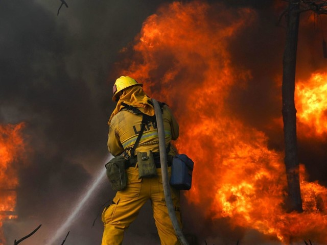Fire at a homeless encampment sparked Bel-Air blaze that destroyed homes, officials say