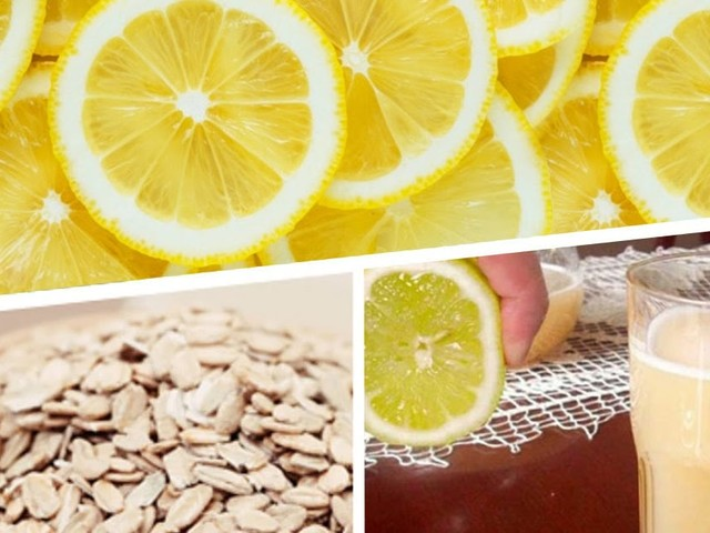 The Famous Oatmeal And Lemon Drink To Get Rid Of 4 Pounds In 5 Days