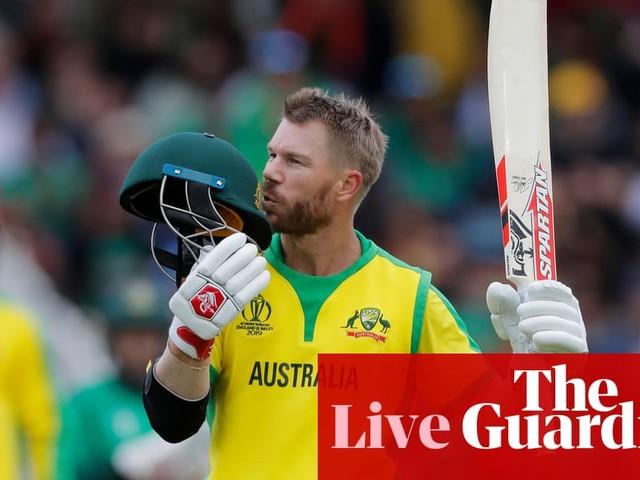 Australia set Bangladesh 382 to win: Cricket World Cup 2019 – live!