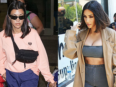 'KUWTK': Kourtney Impersonates Kim After Fight About Not Filming: 'I Have 7 Stylists & Wear Sweats'