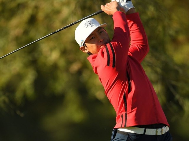 Kim Meen-Whee shoots 6-under 65 to take lead in Las Vegas